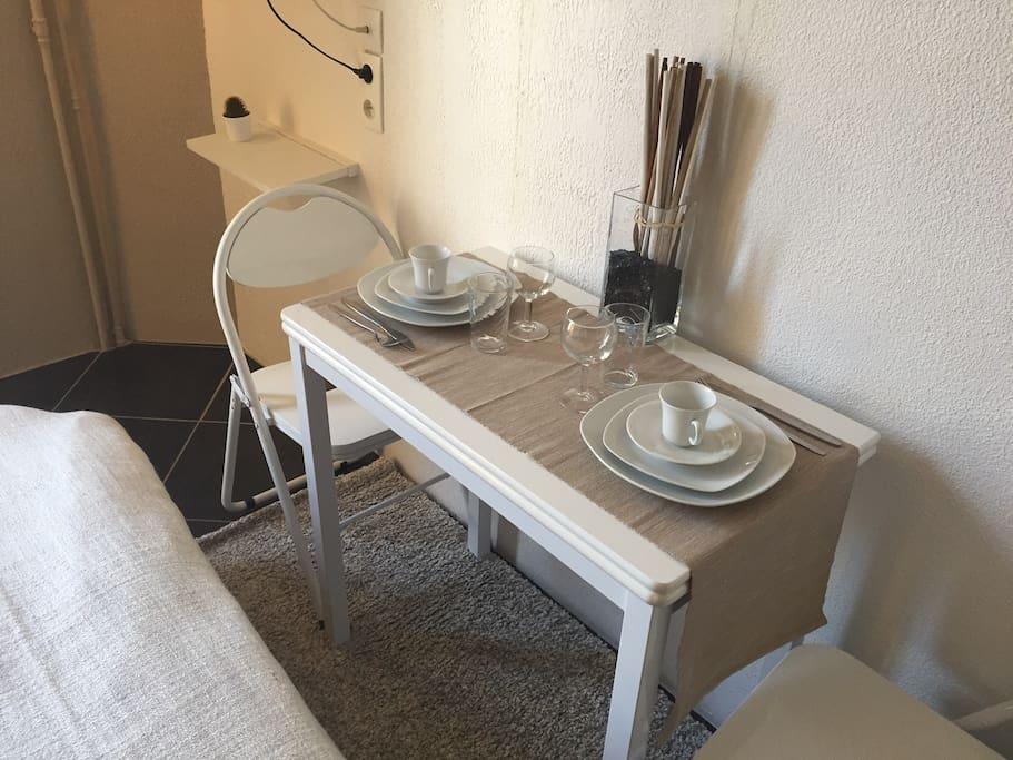 table a manger/espace de travail