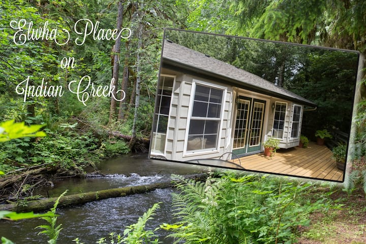 Elwha Place, Peaceful Creekside Apartment