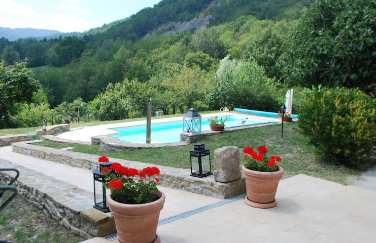 Wonderful private Villa Valmozzola - Valmozzola - Talo