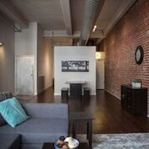 A Lovely Loft In The Heart of Downtown St. Louis - St. Louis - Apartment