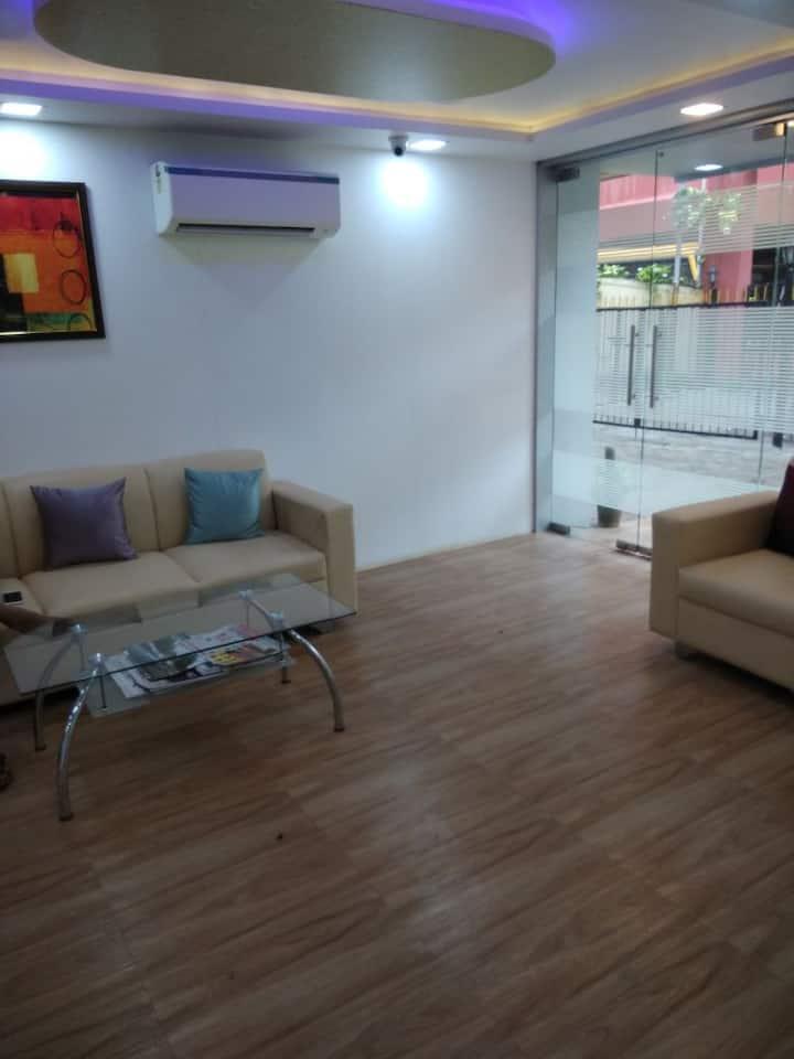Om Sai Residency Kandivali Ease Mumbai Deluxe Room