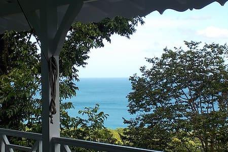 Villa Maya, vue mer des Caraïbes - Deshaies