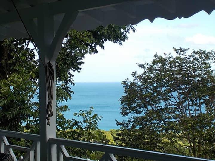 Villa Maya, vue mer des Caraïbes