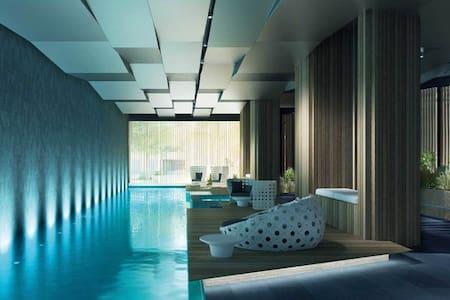 Dream Location/Luxury Apa/MelbourneEyeView/Carpark - Docklands - Byt