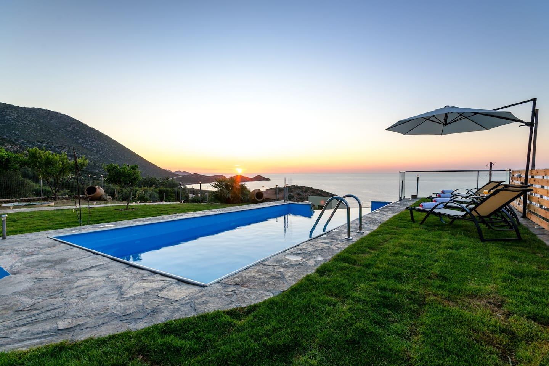 Infinity Swimming Pool - Sunset