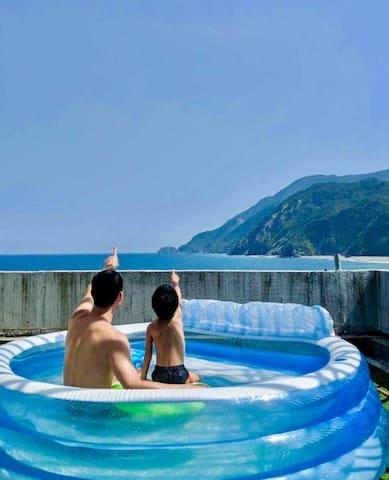 情人灣灣   雙人包棟:保證海景沙灘
