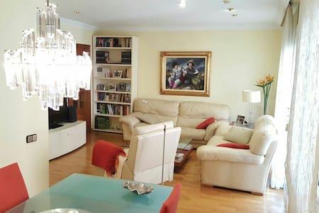 Elegante y céntric piso. Wifi+Parki - Apartemen