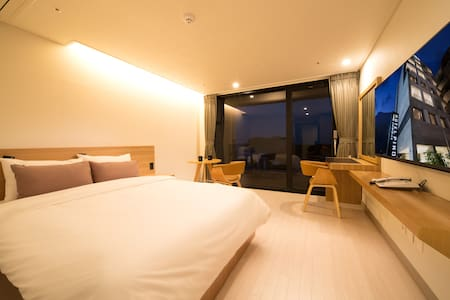 (K)PINO HOTEL-Deluxe Double Balcony Ocean View