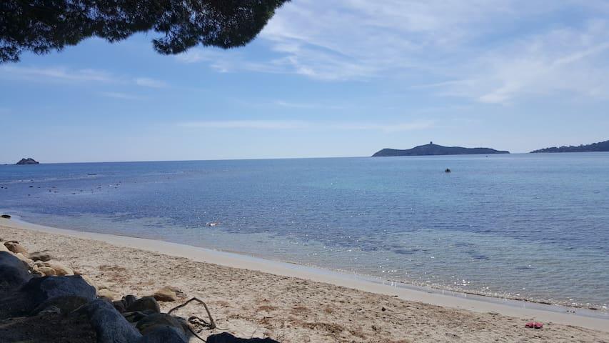 Appartement dans villa plage de vardiola pinarello - Zonza - Flat