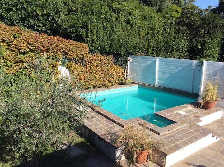 Casa per coppie con piscina privata