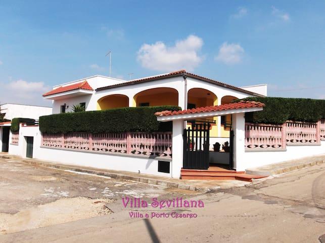 Villa Sevillana a Porto Cesareo