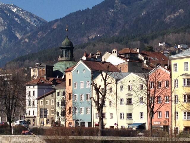 Altstadt Lage mit Bergblick - Innsbruck - Apartment