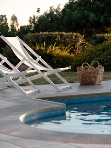 Unwind and relax at the lovely poolside!