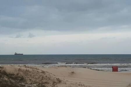 Casa pé na areia