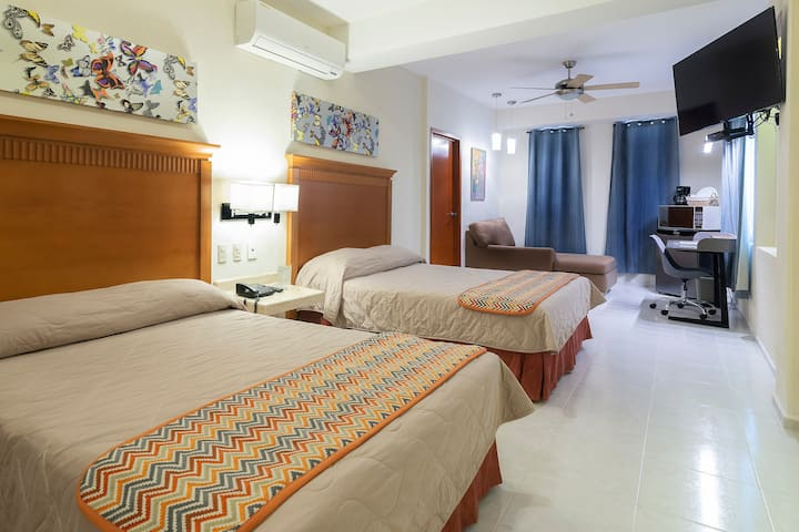 Awesome Studio in Chic and Trendy Area #Cancunlife