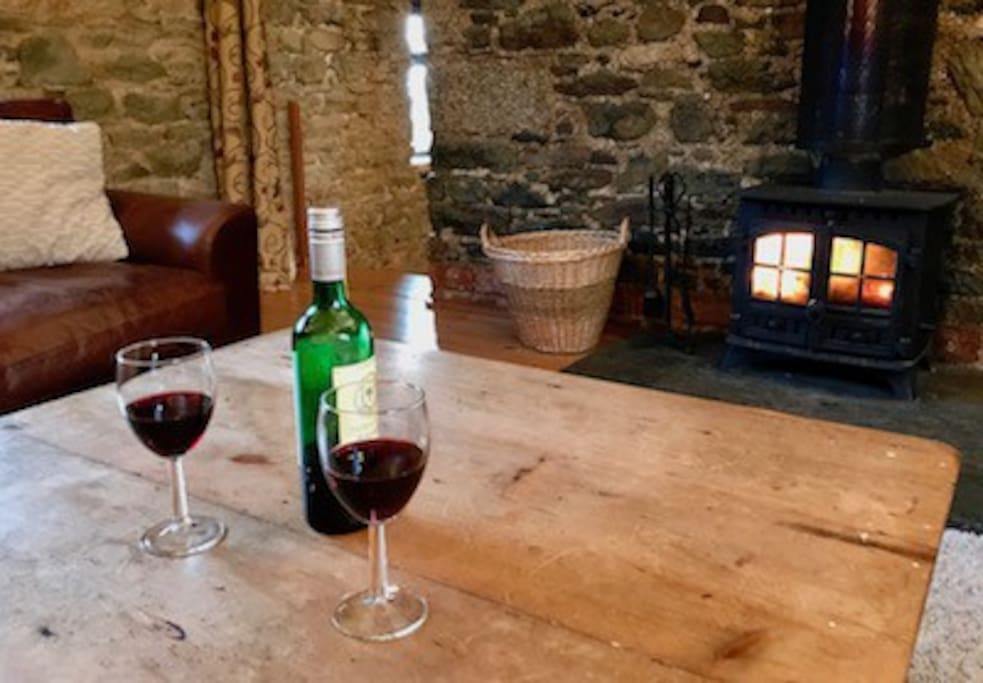 Spend cosy evenings by the fire with friends and family