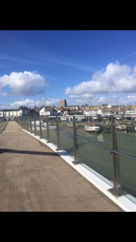 Cosy room by the water - Shoreham-by-Sea - Byt