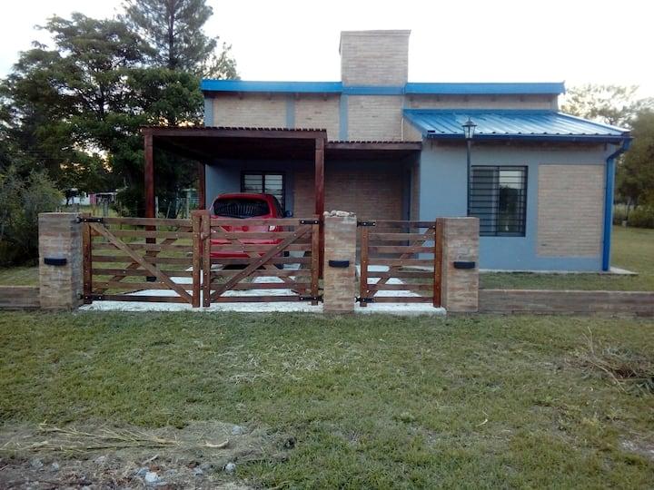 Cabaña Azul en Anisacate