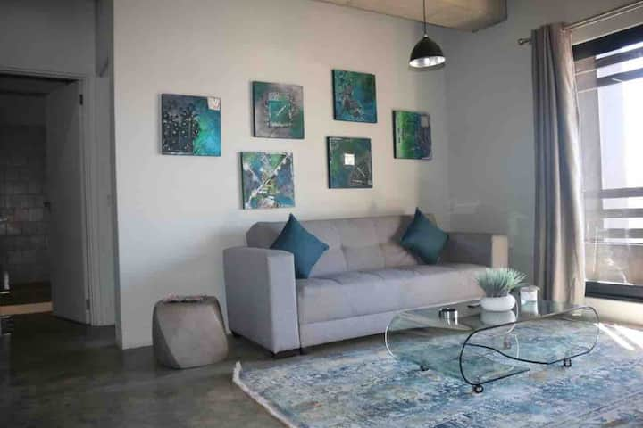 Urban living space with a great view in Maboneng.