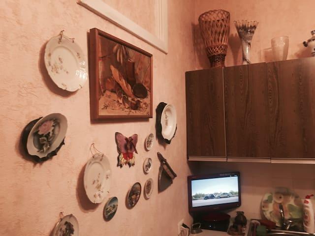 Cozy room near to metro Alexeevskaya