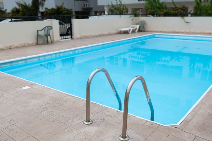 Andreas City Pool Apartment