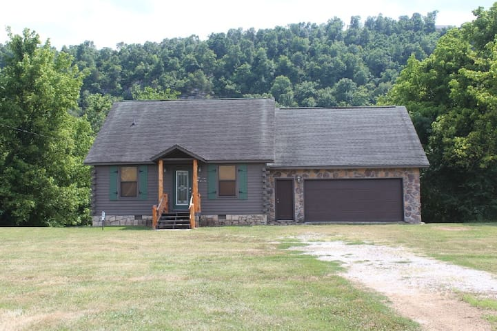 Log Cabin on the White River