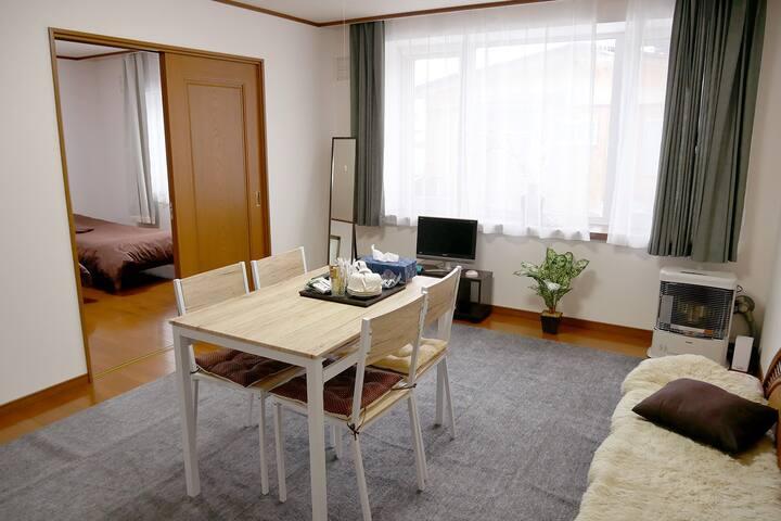 Big/Hakodate/Goryokaku/Cozy/Clean/Free parking/101 - 函館市 - Apartment