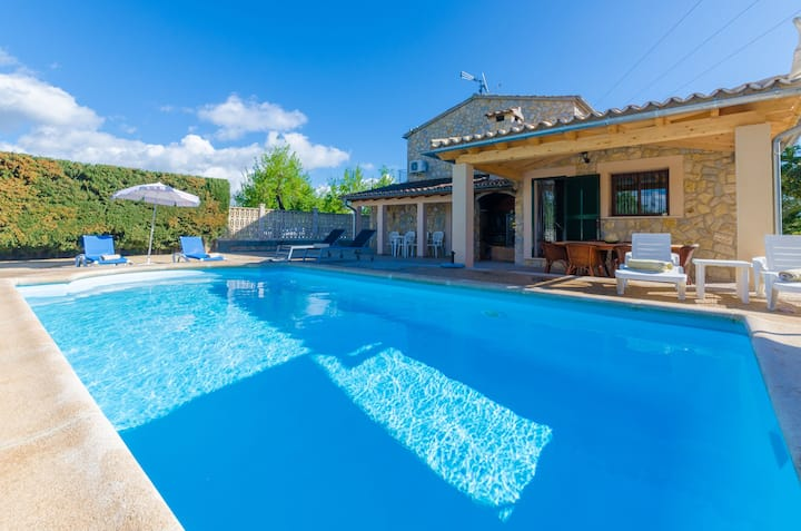 CAN ANTICH - Great country house with private pool. Free WiFi