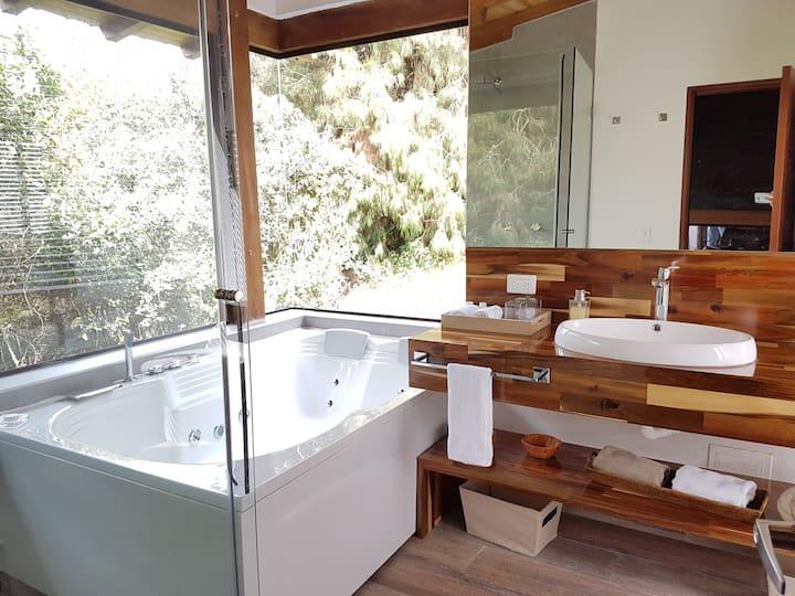Romántica casa en el sisga para dos personas Naqua