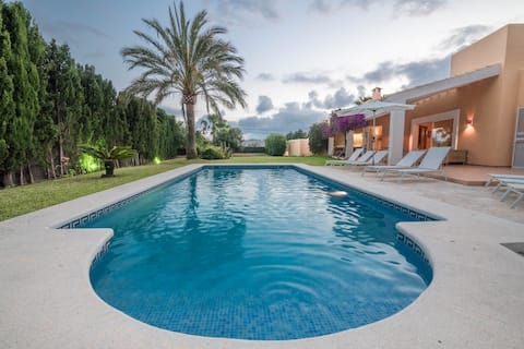 Villa Aloe con piscina privada y vistas al mar
