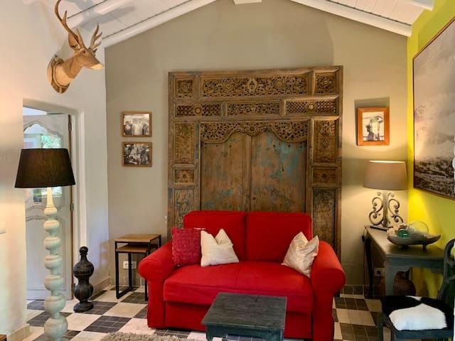 Jasmin cottage - living room