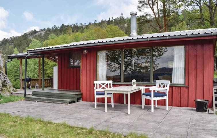 Holiday cottage with 2 bedrooms on 35m² in Søndeled