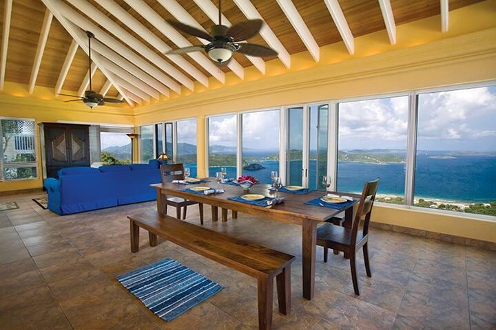 Moonswept | St John Luxury Villa Rental