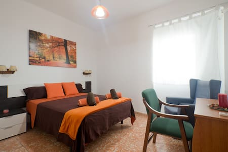 Room & Breakfast Air Conditioner+Wifi+5'Alhambra 1 - Granada