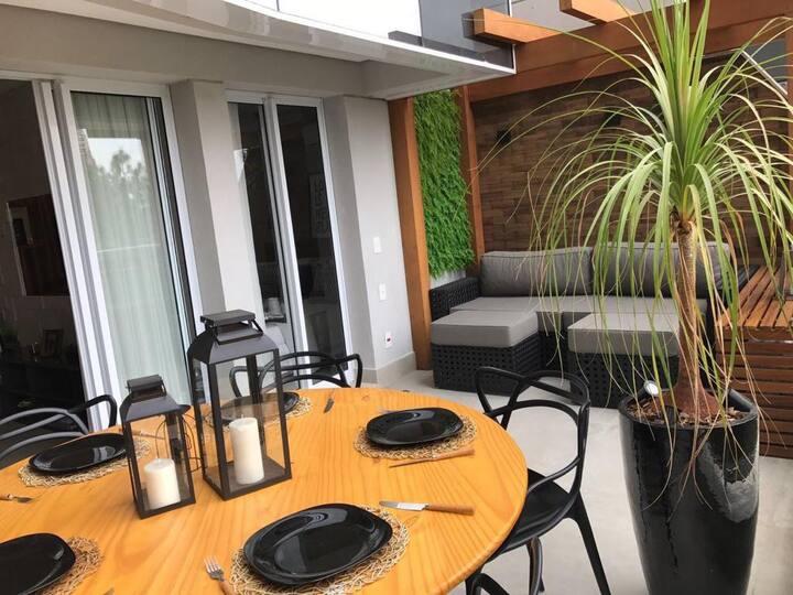 Apartamento Garden Completo com Decoração Incrível