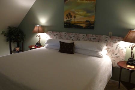 Welcome to the Engadine Suite at Engadine, Asheville's Country Retreat!