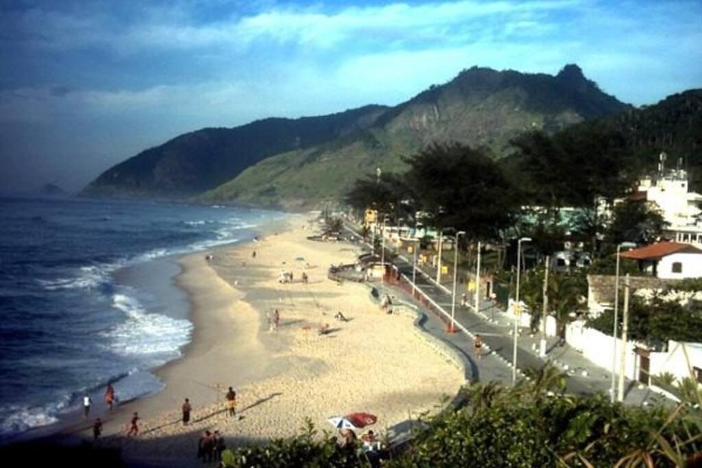 Praia da macumba RJ