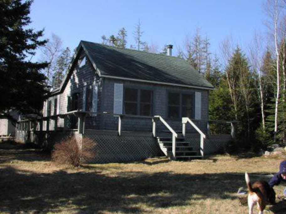Maine Cabin Overlooking Acadia National Park Cottages