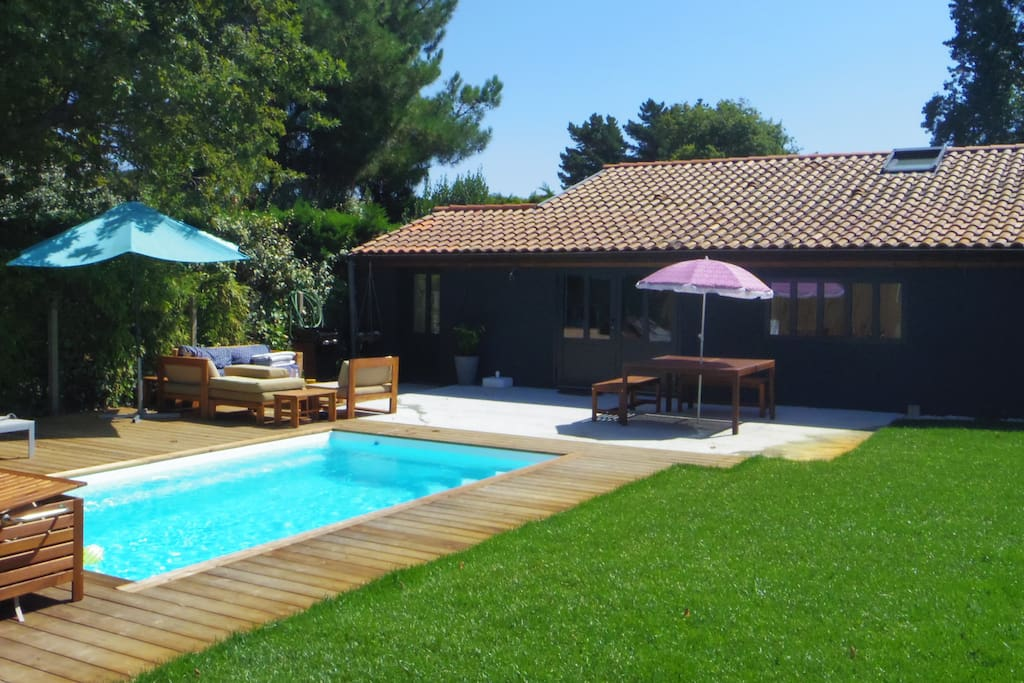 Maison cosy capbreton avec piscine chauff e maisons for Piscine capbreton