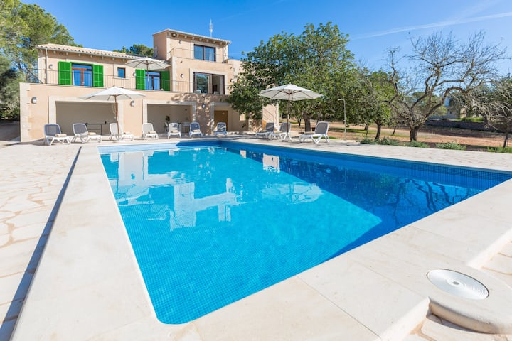 ROMANÍ DES FIGUERAL - Beautiful villa with private pool and great BBQ area, perfect for families. Free WiFi
