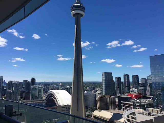 •Luxury•Condo•CN Tower Raptors•MTCC•ACC•Leafs•Jays
