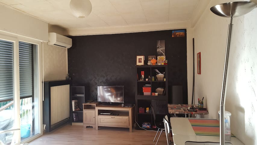 Appart spacieux proche 5 avenues meublé et wifi - Marsylia - Apartament