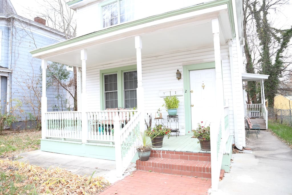 Charming Duplex with front porch to relax