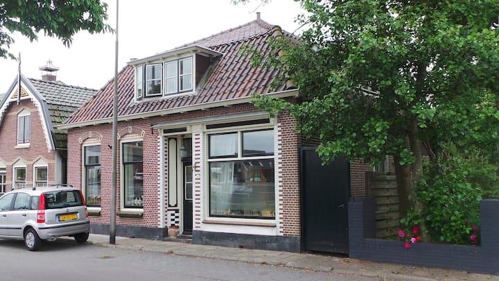 Kamer in monumentaal huis op 25 min. van Amsterdam