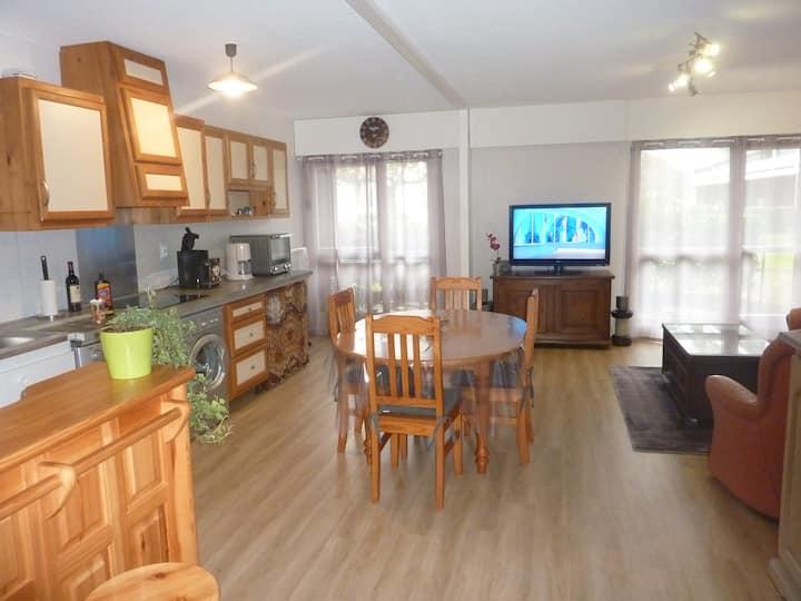 Appartement entier en résidence Style Cottage
