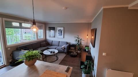 Quiet 1 bedroom apartment in center of Verdal