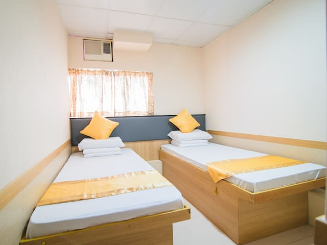 Clean and comfortable Twin Room+&My