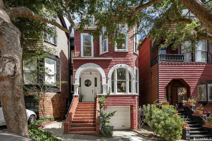 Elegant Victorian in Presidio Heights *Views*