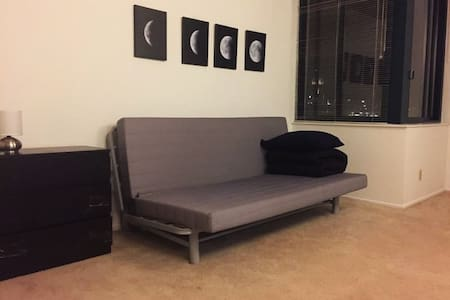 Cozy sofa bed near City Hall - 샌프란시스코 - 아파트