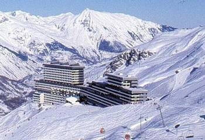 triplex à la neige aux Ménuires,  8 personnes - Saint-Martin-de-Belleville - Leilighet